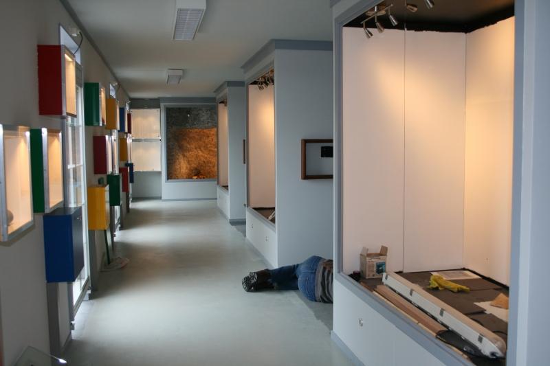 Het IJstijdenmuseum van binnen