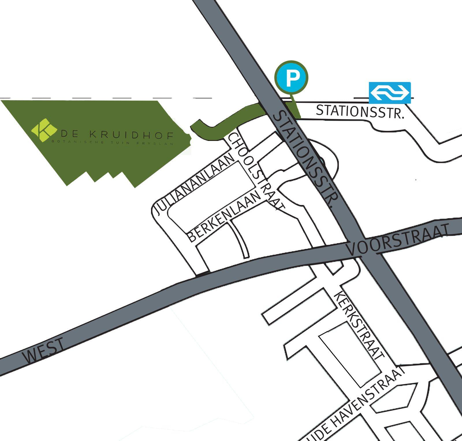 plattegrondje parkeerplaatsen 2014