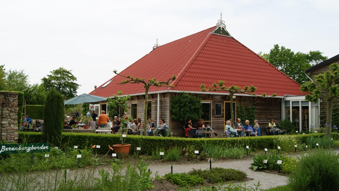 De Botanische tuin de Kruidhof